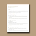 Crafty Resume Template