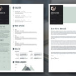 Flat Resume Template