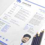 Minimalist Sketch Resume