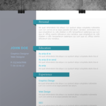 Personal Indesign Resume