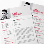 Red Style Resume