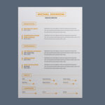 Simple Clean CV Template