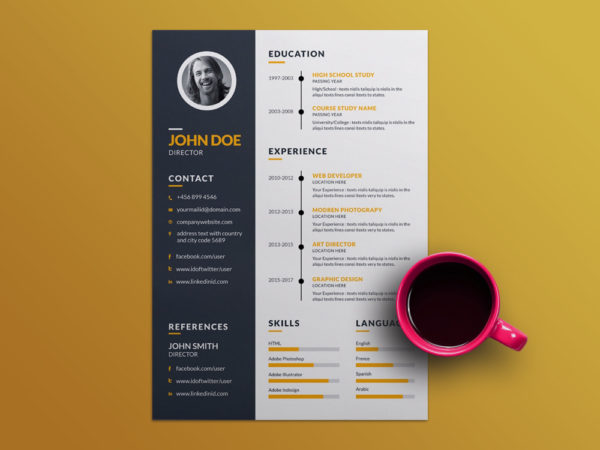 creative employment resume here is free creative resume template - Free Creative Resume Templates