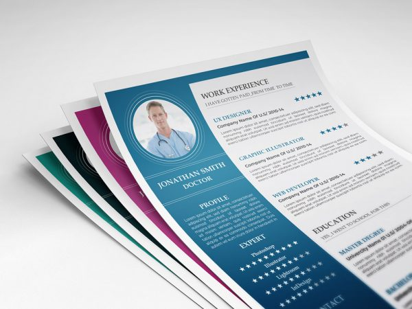 Free Resume Template for Health Related Jobs