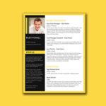 Stylish Word Resume
