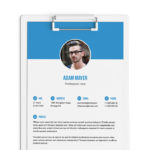 Elegant Indesign Resume Template
