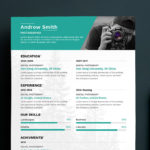 Clean photographer Resume
