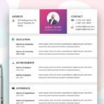 Marketer Resume Template