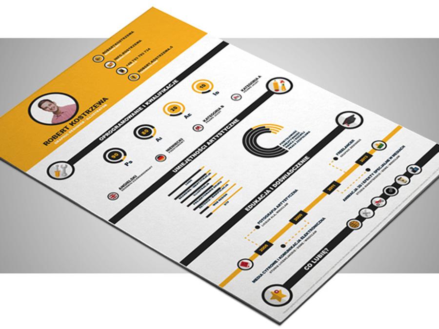 infographic illustrator free infographic illustrator resume template