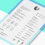 Clean Icons and CV Template