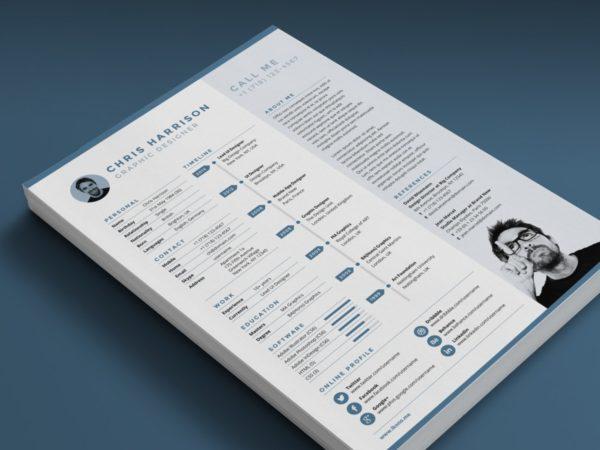 Creative Timeline Resume