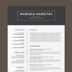 High End Resume Template