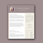Honeycomb Resume Template