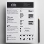 Minimal Designer Resume
