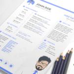 Minimalist Sketch Resume