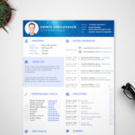 Modern Sketch Resume