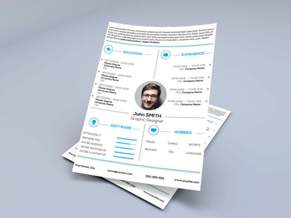 Free Personal Resume Template for Job Seeker