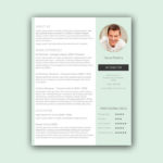 Streamlined Resume Template