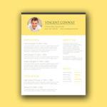 Trendy CV Template