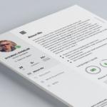 UI Inspired Resume