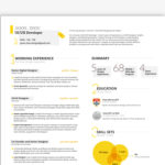 UI/UX Resume Template
