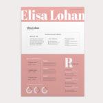 Elisa Pink Resume