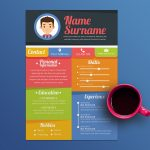 Colorful Resume Template