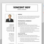 Formal Manager Resume