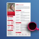 Abbey Resume Template