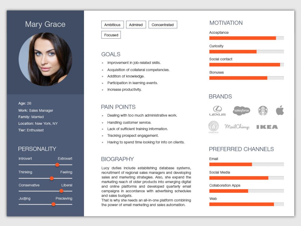 Free Horizontal Resume Template For Any Job