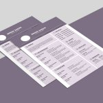 Purple CV Template