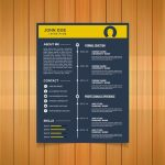 Timeline Vector Resume