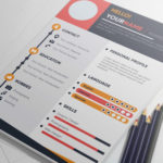Colorful Infographic Resume