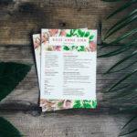 Florist Resume Template