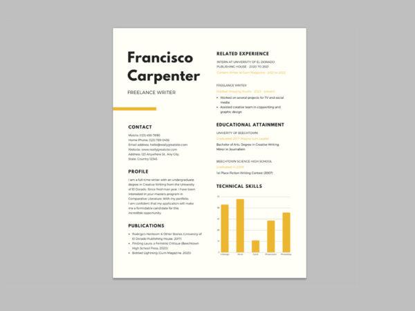 smashresume free resume template for job seeker