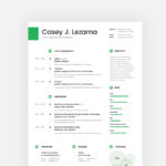 Casey Resume Template