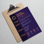 Purple Web Resume