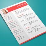 Trendy Word Resume