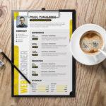 Creative Multicolor Resume