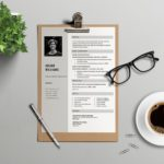 Gray Word Resume