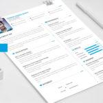 Portfolio PSD Resume